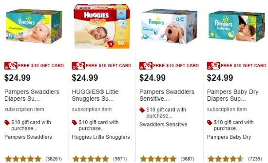 target diapers