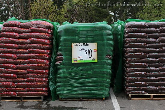the home depot mulch