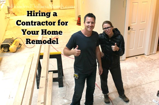 Hiring a Contractor for Your Home Remodel