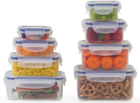 Little Big Box - By Popit 8 Plastic Container Set  Food Saver Set