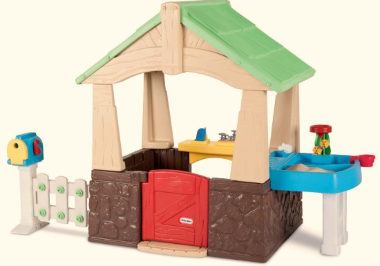 Little Tikes Deluxe Home and Garden Playhouse
