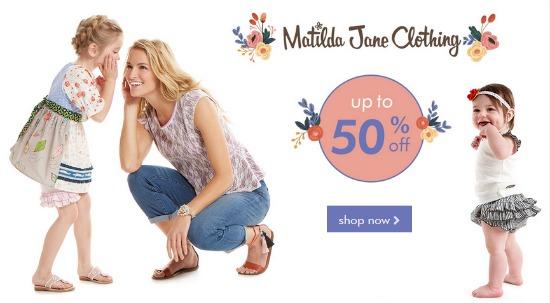 matilda may clothing sale