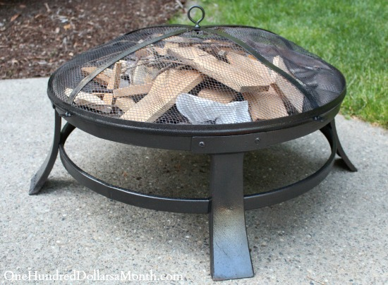 repainting fire pit