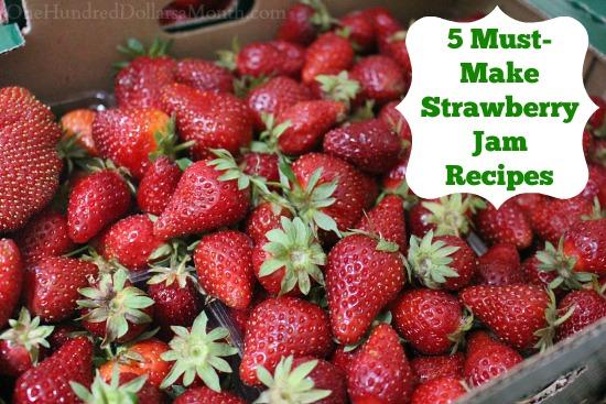 5 Must-Make Strawberry Jam Recipes