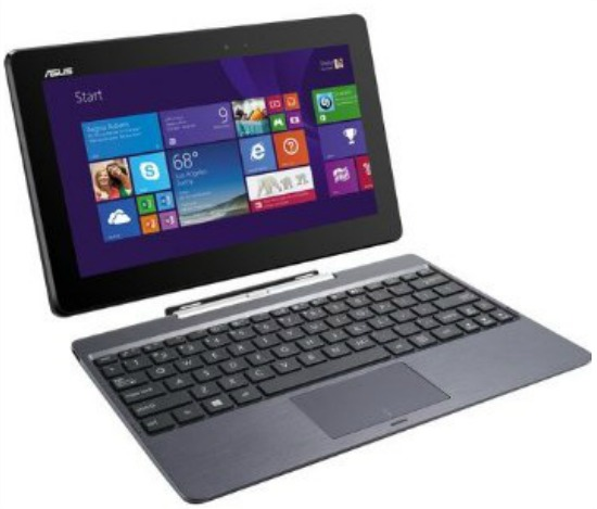 ASUS T100TA-C1-GR Transformer Book 10.1-Inch Detachable 2-in-1 Touchscreen Laptop 64GB SSD with Dock