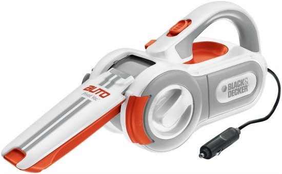Black Decker PAV1200W 12-Volt Cyclonic-Action Automotive Pivoting-Nose Handheld Vacuum Cleaner