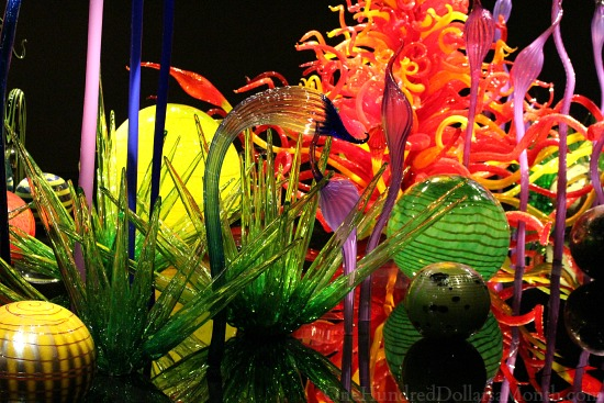Chihuly Garden and Glass - Seattle, WA - One Hundred Dollars a Month