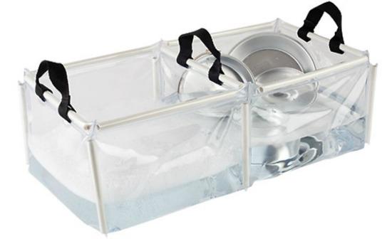 Coleman PVC Folding Double Wash Basin