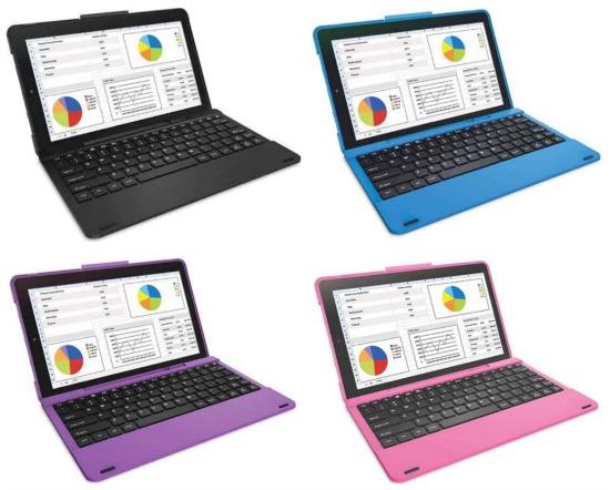 RCA Pro II 10.1 Tablet 16GB Quad Core Keyboard Case