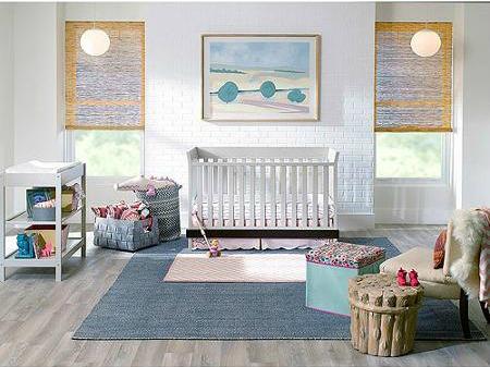 Urbini Sweetli 4-in-1 Fixed-Side Convertible Crib, Choose Your Finish