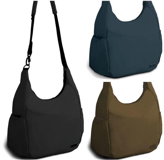 WALNUT  Pacsafe Citysafe 400 GII Hobo Bag