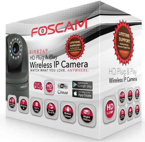 foscam wireless camera