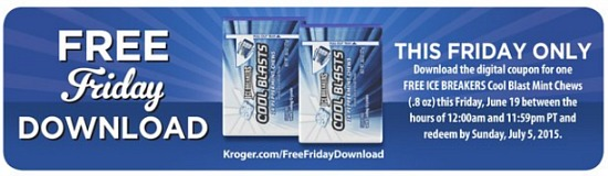 fred meyer friday freebie