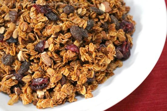 simple granola recipe with oil