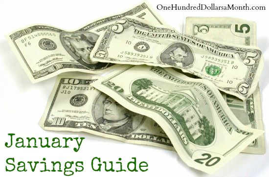 January Monthly Savings GuideSale in Season