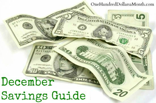 december savings guide