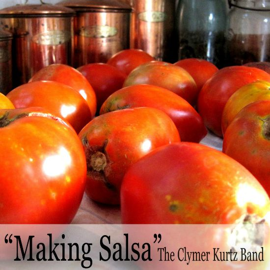making salsa song