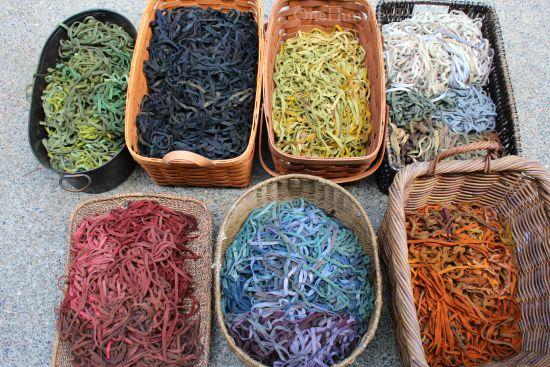 rug hooking wool strips