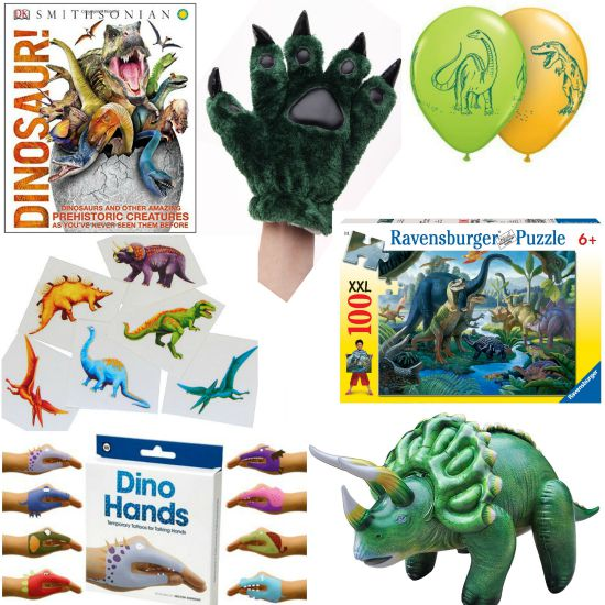 Dinosaur birthday gifts