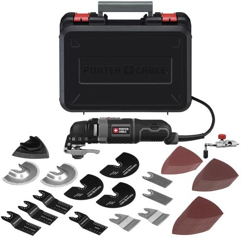 PORTER-CABLE 3-Amp Oscillating Multi-Tool Kit with 52 Accessories