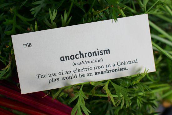 anachronism