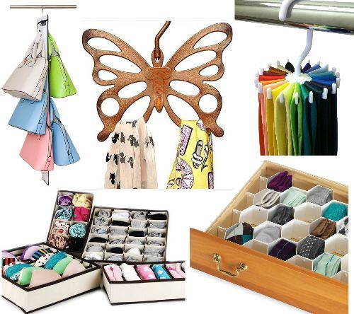 butterfly scarf organizer