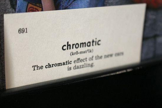 chromatic