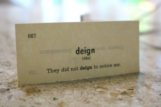 Perfect Word Of The Day: Deign Definition: ...