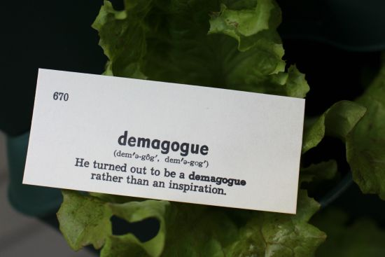 demagogue