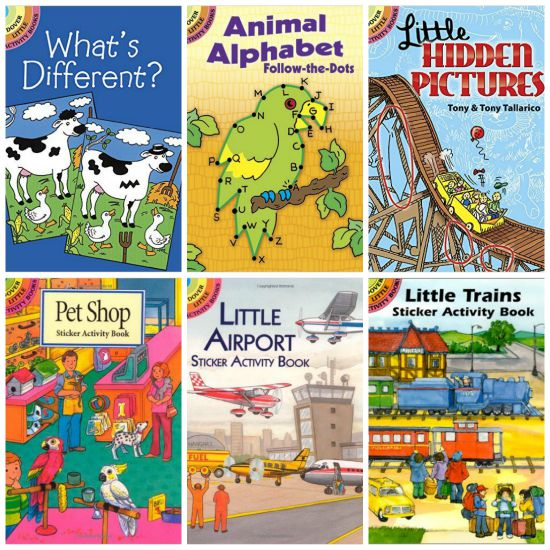 little dover activity books