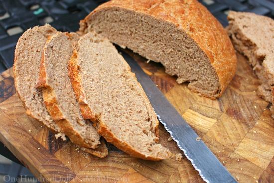 crusty whole wheat bread