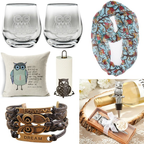 gifts for people who love owls