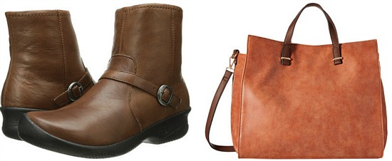 keen brown leather boot
