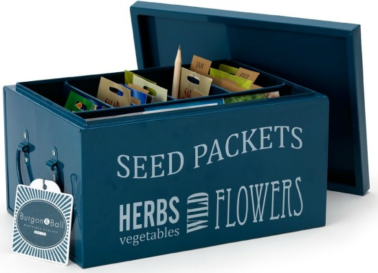 Burgon and Ball Seed Packet Organiser