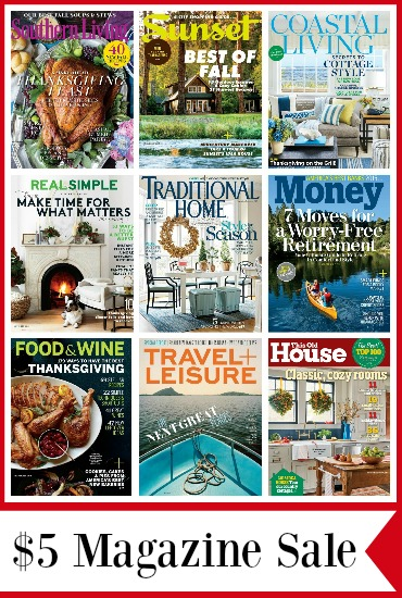cheap magazine deals