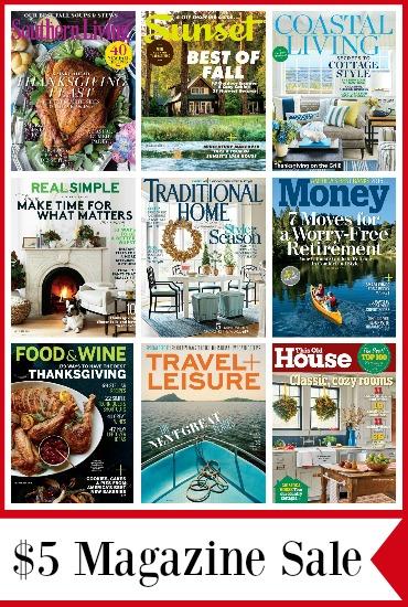 cheap magazine deals