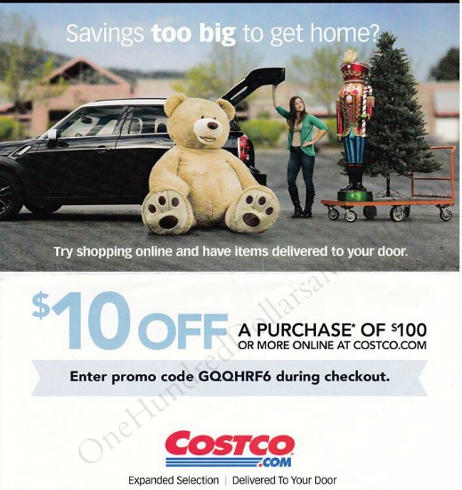 costco 10 off coupon