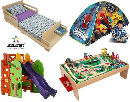 kidkraft toddler bed