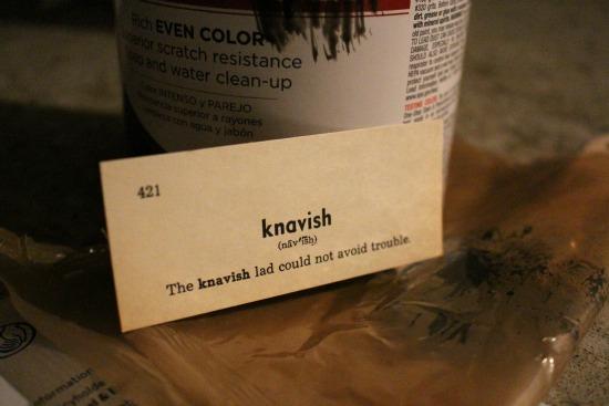 knavish