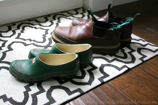 shoes at door