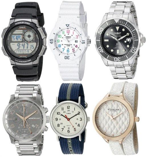 white timex watch