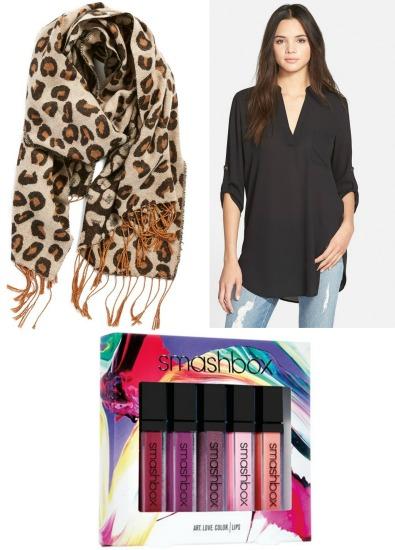 soft leopard print scarf