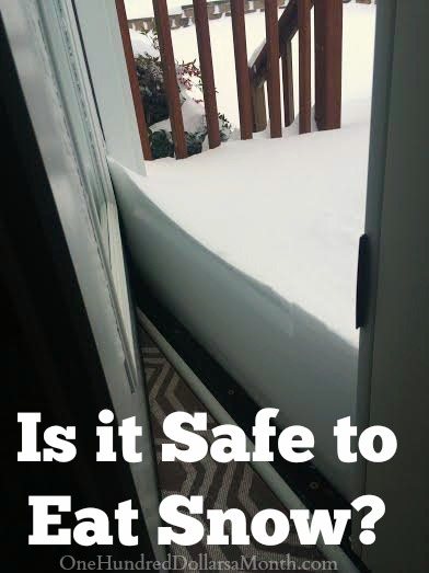 Is it Safe to Eat Snow