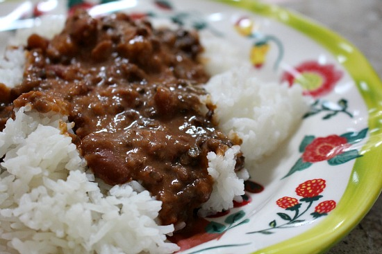 lentils and rice