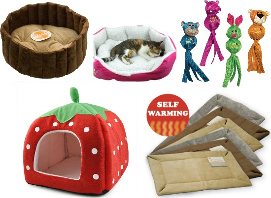 strawberry pet bed