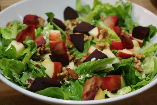 bacon apple salad