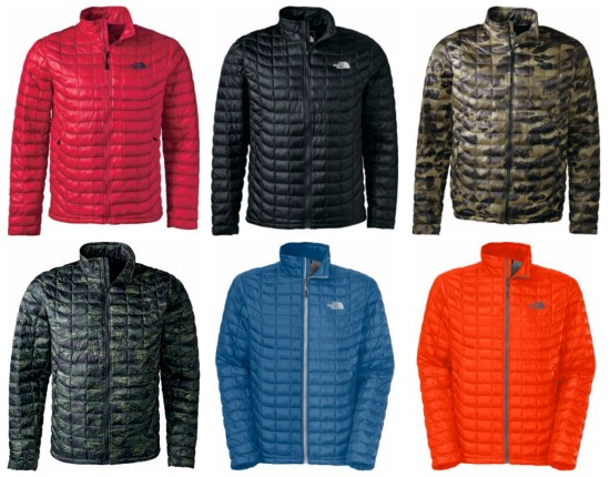 the north face camo jacket