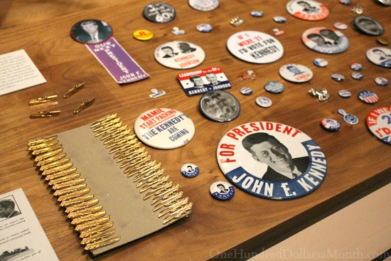 kennedy campaign buttons