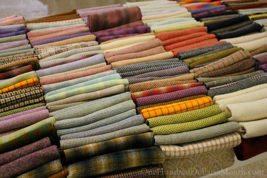 rug hooking wool stash dorr mill store
