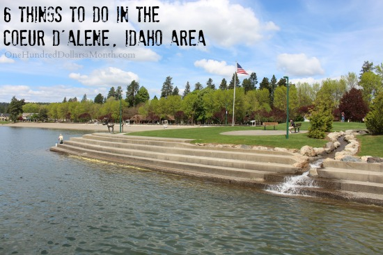 6 Things to do in the Coeur d Alene  Idaho Area